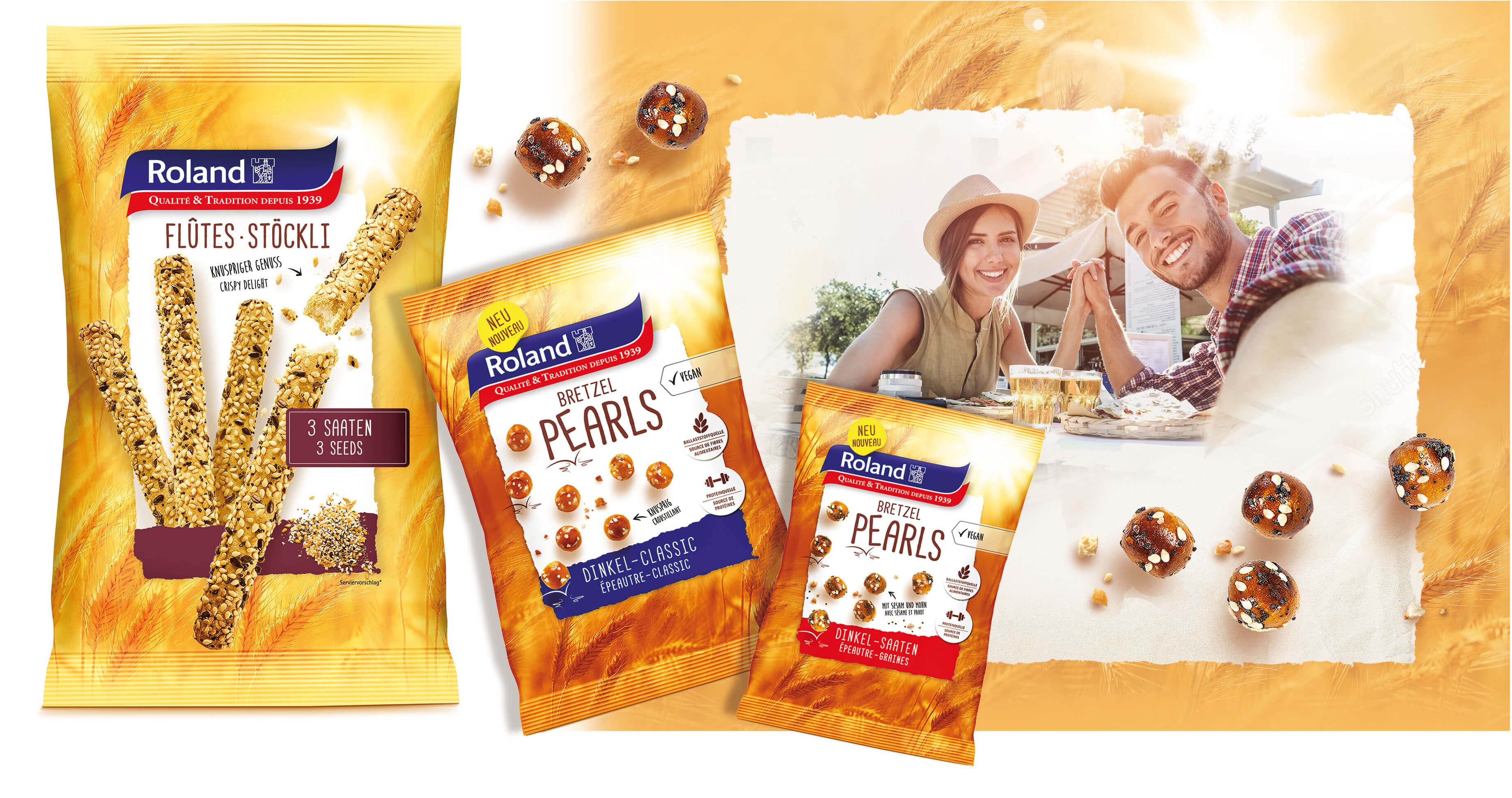 Roland Produkte für den Apèro